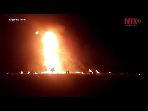 Activan Plan DN-III tras explosión de ducto de Pemex en Tlahuelilpan