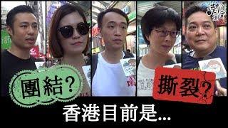 【港實測】修訂《逃犯條例》風波 香港「團結」定「撕裂」?