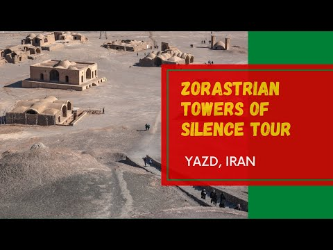 Towers of silence tour | Yazd, Iran -Zoroastrianism[2020]