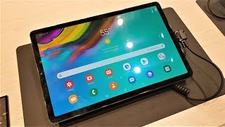 Samsung Galaxy Tab S5E Hands-On First Look MWC19