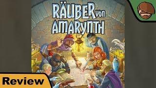 Räuber von Amarynth - Brettspiel - Review mit Cron