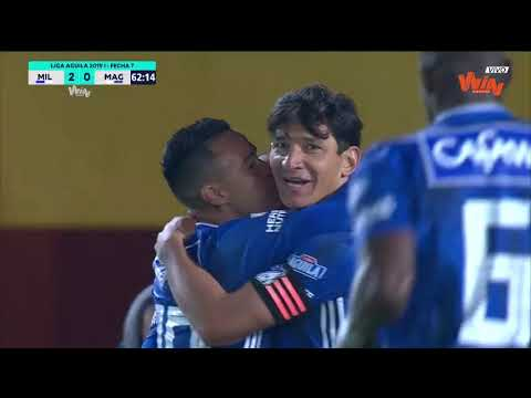 Millonarios vs Unión Magdalena (4-0) | Liga Aguila 2019-I | Fecha 7