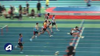Liévin 2019 : Finale 60 m haies Cadets (Record de France de Sasha Zhoya en 7''48)