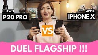 Gambar cover Huawei P20 Pro Vs Apple iPhone X !!! Penantang Baru Flagship!