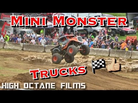 MINI MONSTER TRUCKS FREESTYLE | UNLIMITED OFFROAD EXPO