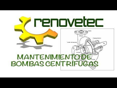 MANTENIMIENTO DE BOMBAS CENTRÍFUGAS