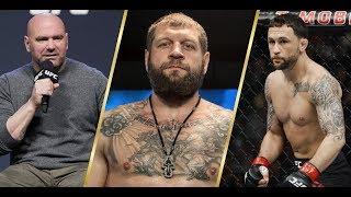 Новая сделка UFC, следующие бои Емельяненко, возвращение Чака Лидделла, следующий бой ЖСП и Эдгара