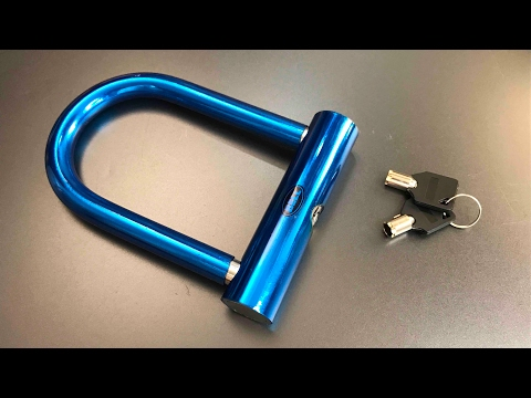 """[455] Bell """"Catalyst 200"""" Bicycle U-Lock Picked"""