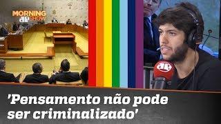 Caio sobre Homofobia: 'Pensamento não pode ser criminalizado'