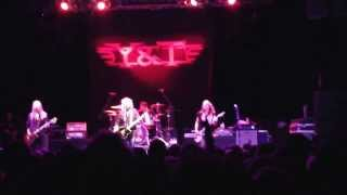 Y&T I'm Coming Home - Live 20/09/13 Newcastle