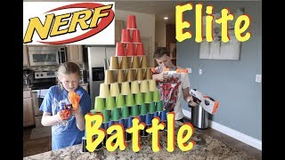 Nerf Blaster Obstacle Course