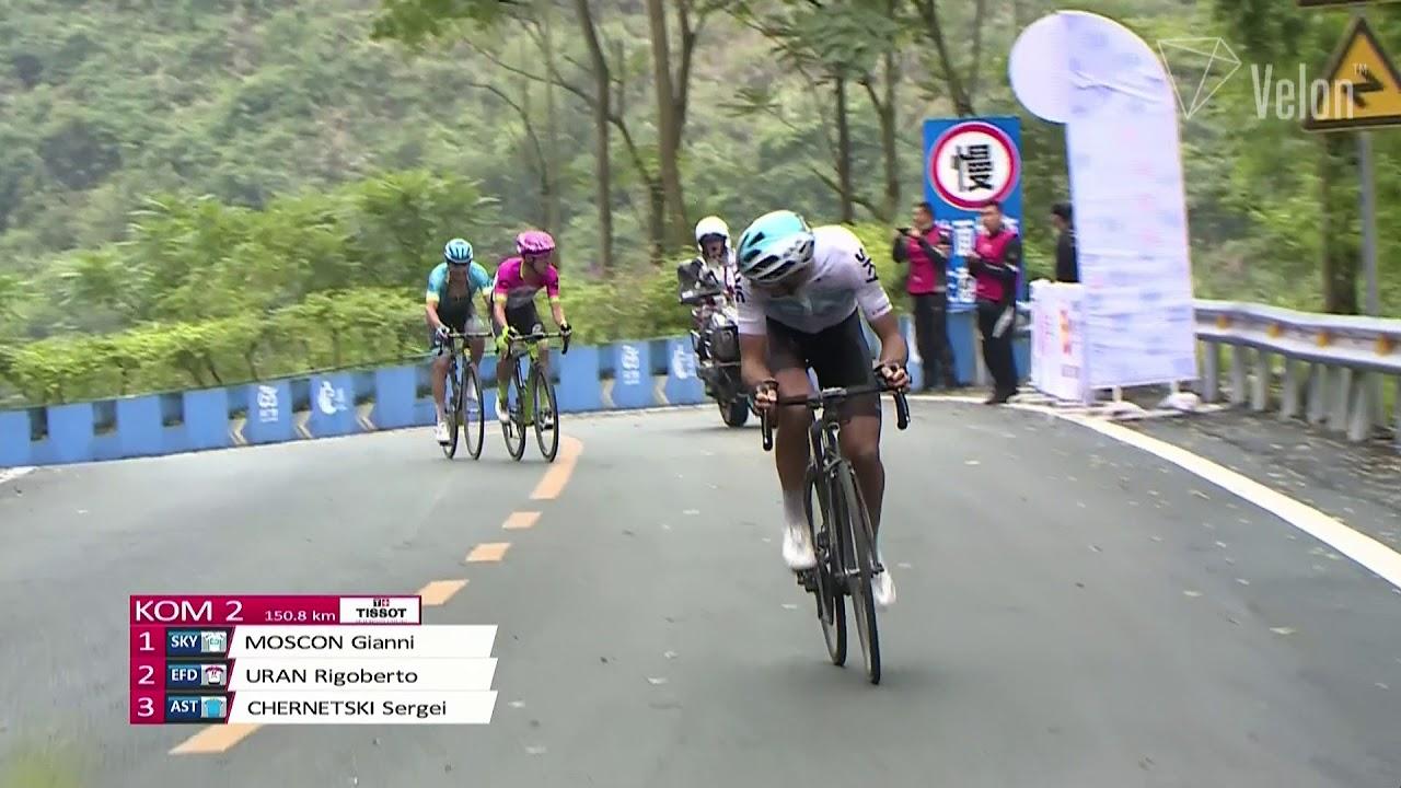 Gianni Moscon vince al Tour of Guangxi 2018