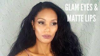 Glam Eyes & Matte Lips