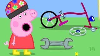 Peppa Pig English Episodes | Peppa Pig's Bike Is Broken | Peppa Pig Official