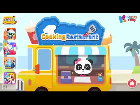 , title : 'Baby Panda's Cooking Restaurant New Game by BabyBus