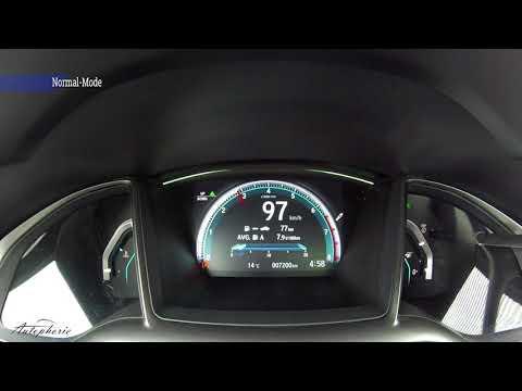 Honda Civic 1.5 VTEC Turbo (182 PS): Beschleunigung 0 - 225 km/h - Autophorie
