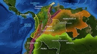 Colombia - Geography