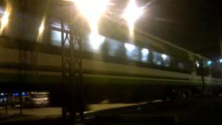 preview picture of video 'Tren Nº266 saliendo de La Banda al mando de la GM GT-22CW #9021 (24-06-14)'