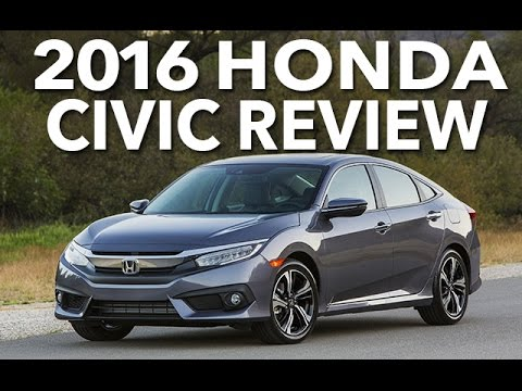 Best Compact? 2016 Honda Civic Review and Test Drive