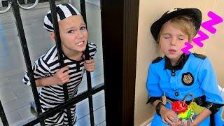 Police story and Peek a boo song   Nursery Rhymes & Kids Songs