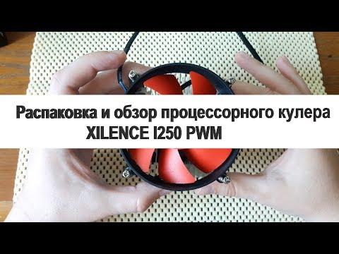 Распаковка и обзор кулера XILENCE I250 PWM