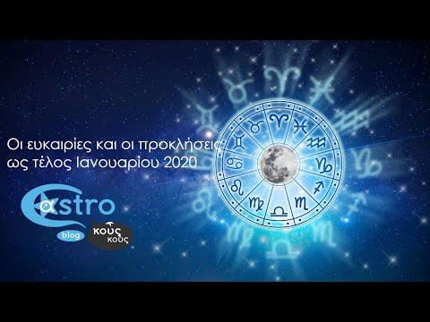 Αστρολογικές προβλέψεις ως το τέλος Ιανουαρίου 2020