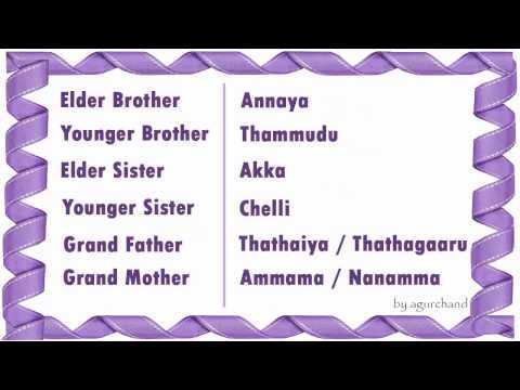 elder telugu meaning