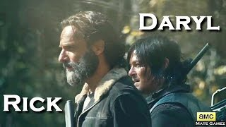 Rick  Daryl   Hey Brother   The Walking Dead (Music Video)
