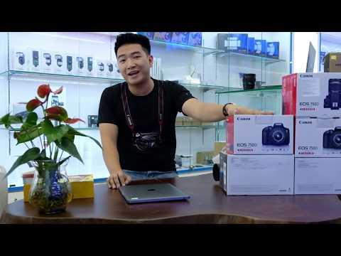 Canon Eos 750D có thật sự tốt ? ... Đập hộp review tại zshop