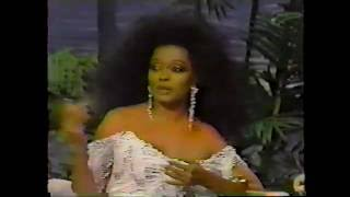 Diana Ross Johnny Carson 1991 Interview