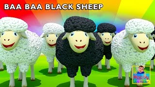 Baa baa black sheep have you any wool  | kids songs | children songs | Happy Little Babies !