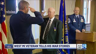 Purple Heart award recipient shares war stories