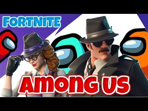AMONG US NO FORTNITE?| NOVO MODO! ESPIO INTERIOR | Gameplay em Portugus