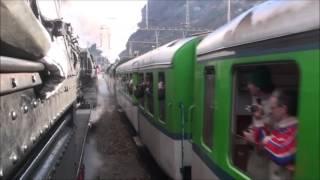 Gotthard Südrampe Mit 01 202/01 1066/50 3673