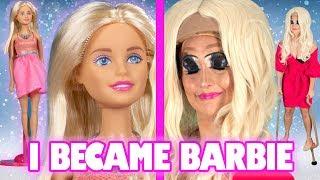 I Tried To Transform Into A Life-Size Barbie - Video Youtube