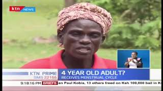 Mystery surrounds 4 year old with fully grown breasts and experiences menstrual cycle in Busia