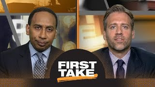 Max: LeBron James to Spurs is 'correct choice' for him | First Take | ESPN