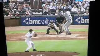 Richie Sexson hits ball almost 500 feet, settles for a triple. - Video Youtube