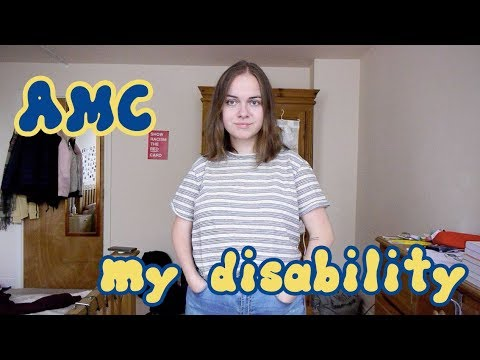 my disability – AMC (arthrogryposis multiplex congenita)