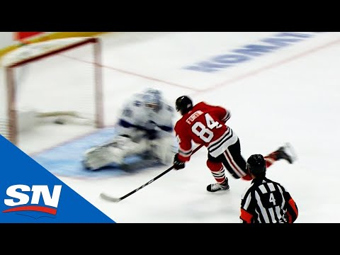 Alexandre Fortin Scores Perfect Breakaway Shot For First NHL Goal