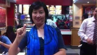 DNS12066 [Deaf World] Egypt KFC Restaurant Fully Operated By Deaf Staffs