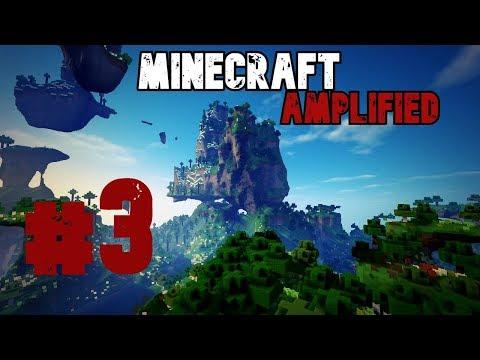 Duky / Minecraft Amplified #3 - hledání sugarcane