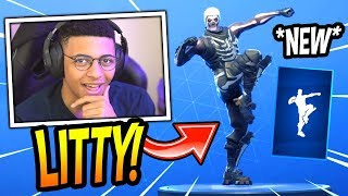 """MYTH REACTS TO *NEW* """"WORK IT OUT"""" EMOTE/DANCE! *RARE* Fortnite SAVAGE & FUNNY Moments"""