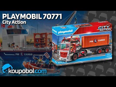 Vidéo PLAYMOBIL City Action 70771 : Camion de transport