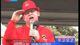 Uhuruto Express : Jubilee MPs campaign in Nakuru