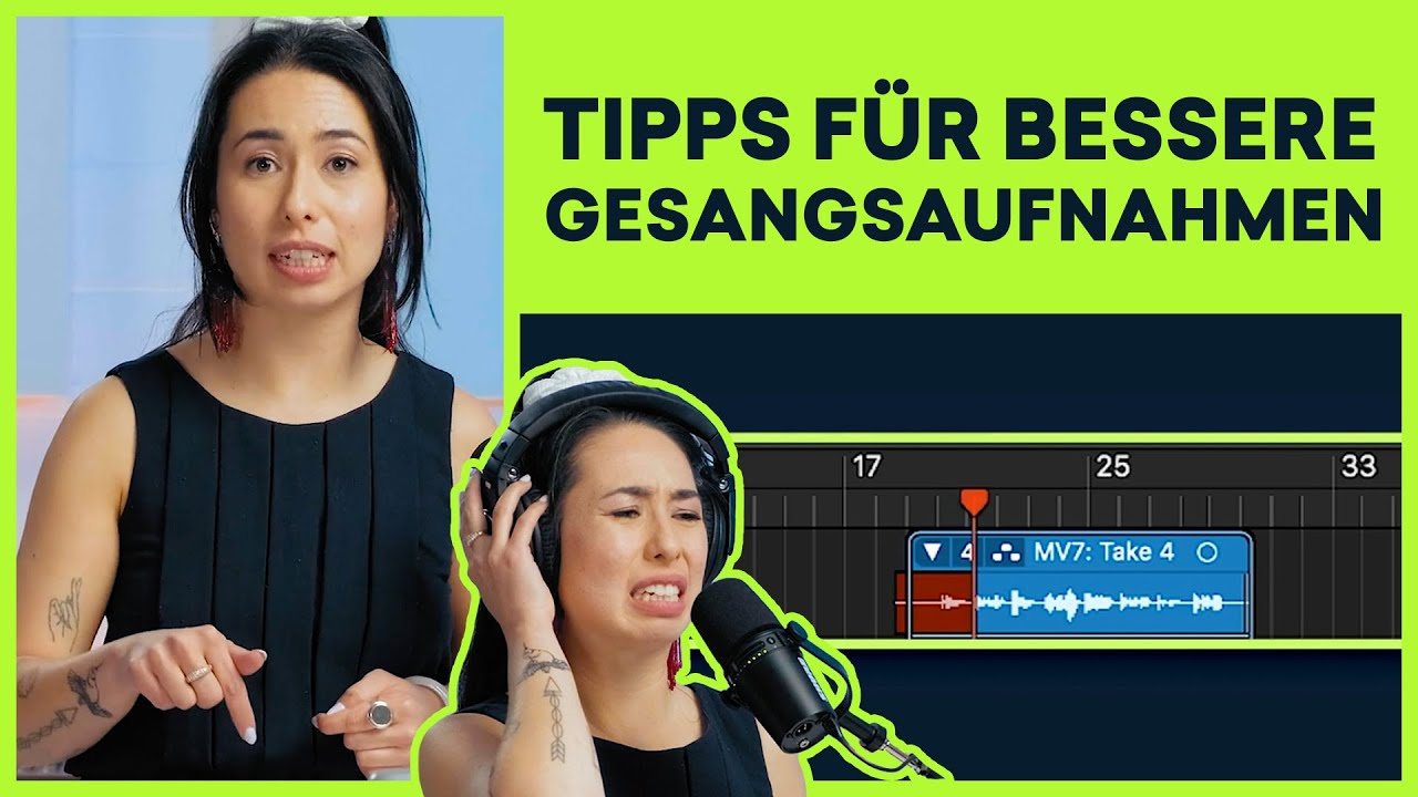 7 Reasons Why Recording Will Make You a Better Vocalist