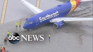 Southwest flight's terrifying landing