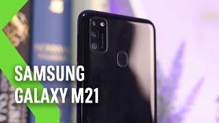 Samsung Galaxy M21, análisis: TRES DÍAS de batería para la conquista de la relación calidad-precio