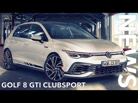 10 Fakten zum VW Golf 8 GTI Clubsport inkl. Sound & Race Track (Benny Leuchter) | Voice over Cars
