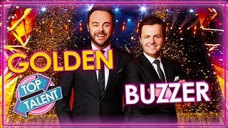 ALL Ant and Dec's Golden Buzzer Moments on Britain's Got Talent | Top Talent